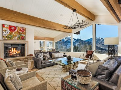 Photo for Mountain Chic Luxury Designed by Renown Mario Buatta | Magnificient Views