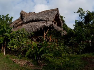 Photo for Ayampe Cozy wooden house, three minutes walking to the beach
