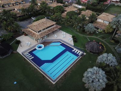 Photo for Beautiful house with 4 Suites, 170m2, in Excellent Condominium and Beach on Foot in Geribá
