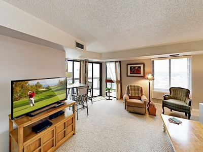 Photo for Comfortable Condo w/ Pool & Gym - Across the Street from the Ocean