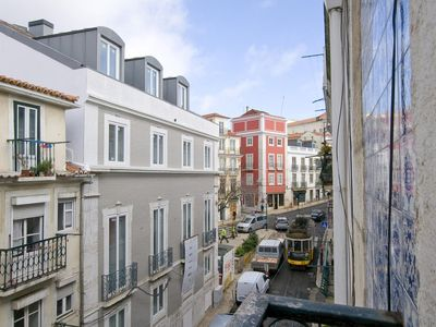 Photo for Comfort and Tradition History in Lisbon, with a view of the tram 28!