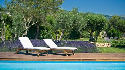 Photo for Brand New! Cote d'Azur: Stunning villa by the charming village of Tourrettes