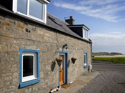 Photo for Seatown Cottage Lossiemouth - a traditional Cottage with beautiful river views