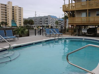 Photo for Gulf Shores Condo - Directly Across Road from Beach!