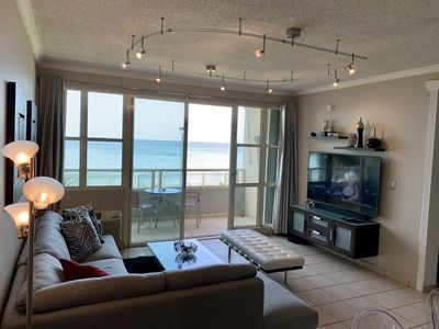 Photo for *The Best in the Area* Luxury Beach Front Paradise! Wi-Fi, A/C, Cable TV