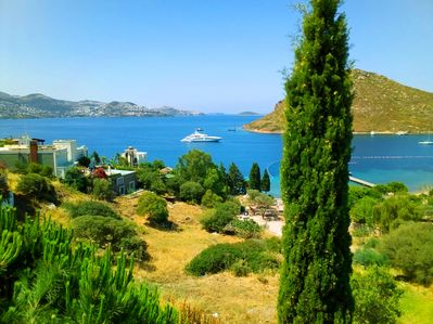 Lovely Views Of The Field, Sea, Bays, And Islands From The Villa's Roof Terrace!
