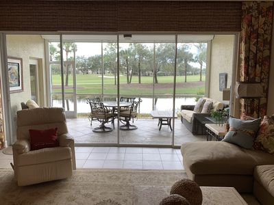 Photo for Lake View/Golf view luxurious Condo in Gated Community - Private Beach & Pool