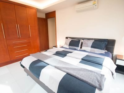Photo for Luxury, central Pattaya 2 bed condo