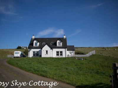 Photo for Isle of Skye - 3 bedroom 2 Bath room self-catering Cottage (11 miles to Portree)
