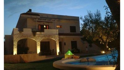 Photo for Apartment in Villa grandmother Maria with hydromassage pool Puglia