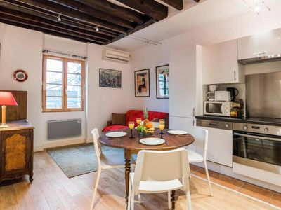 Photo for Lovely 1BR Flat in Le Marais - Best Area of Paris