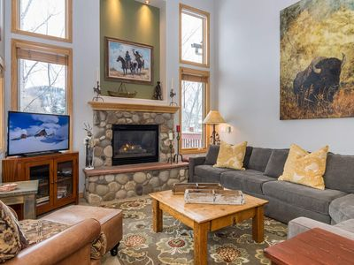 Photo for Two Hot Tubs + Awesome Amenities | Walk To Mtn | Colorful Decor & Views!