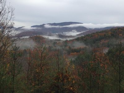 Early November morning from the back porch