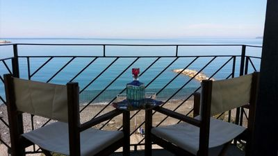 Photo for La Finestra Sul Mare, 4-floor house, 2 bedrooms, sea view room, parking