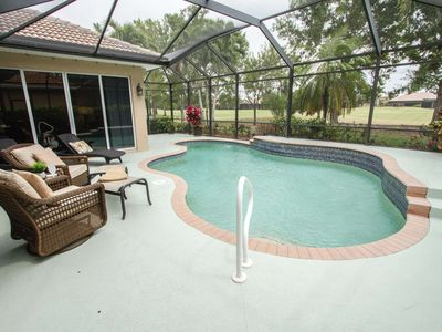 Photo for Gorgeous Masters Reserve pool home in Lely with optional Classics Golf/CC transfer offer!