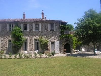 Photo for Beautiful family XVth Century residence, in Meridian Cevennes