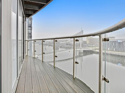 Photo for Beautifully Furnished 1 Bedroom- Waterfront Location in Manchester's MediaCityUK