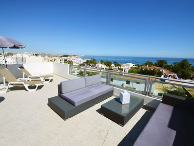 Photo for Michel Sea View Apartment Albufeira - WIFI/AC/150m from beach