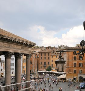 Photo for Looking at the Pantheon, renewed apartment, WiFi, A/C