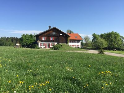 Photo for Aussiedlerhof surrounded by meadows and forests, tasteful antique furnishings