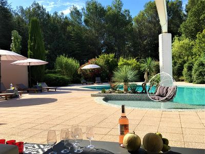 Photo for MAGNIFICENT CONTEMPORARY VILLA 5 * IN A LANDSCAPING PARK OF THE AIXOISE CAMPAIGN