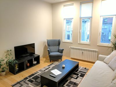 Photo for Jazzy place, top location, cosy flat,central Sofia
