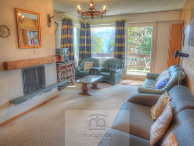 Photo for Apartment with 1 bedroom with 2 single beds, 1 bedroom with a double bed, 2 bathrooms with bath and