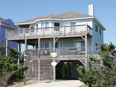Photo for Classic beach home with hot tub! Walk to beach, dining, stores!