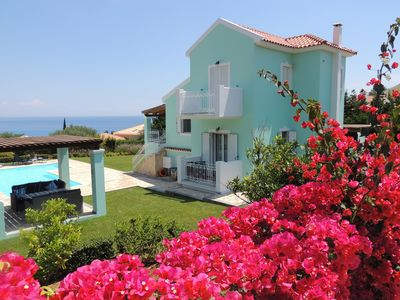 Photo for Villa Hara - 4 Bed Villa, Large Pool, Fabulous Sea and Mountain Views Free WiFi