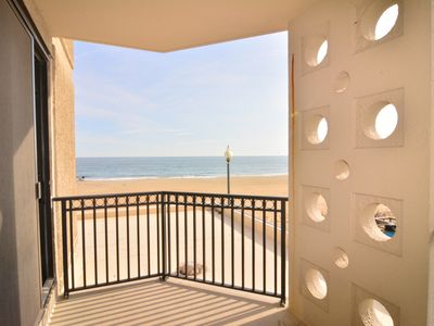 Photo for #213 Studio Ocean Front Condo, 1 Bedroom, 1 Bath, One Virginia Avenue, Rehoboth Beach DE