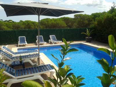 Photo for new, intimate and modern villa with barbecue and private pool (salt water)