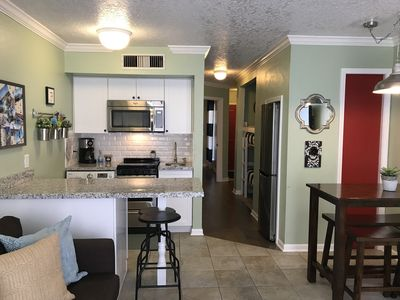 Newly Remodeled Condo across the street from the beach
