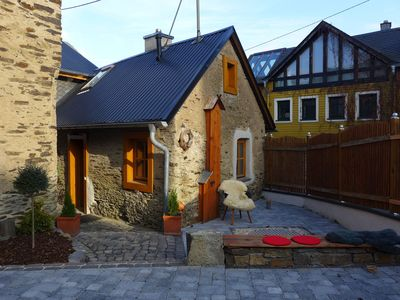 Photo for Beautiful, cosy, 1800 farmhouse with sauna in peaceful surroundings