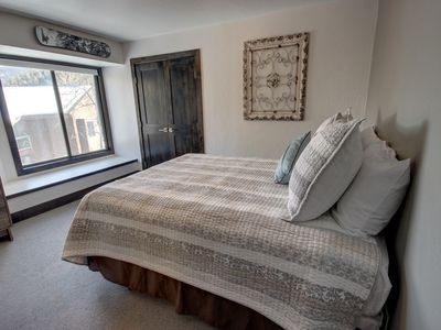 Photo for This is a lock off from the 2 bedroom condo next door; if you are traveling with a larger group, you can rent them both. This studio is located West Keystone in the free shuttle service.
