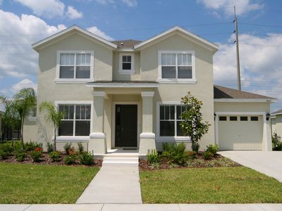 Photo for Huge 6 Bed / 5 Bath Luxury Disney Vacation Rental Home, Kissimmee, FL.
