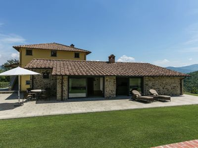 Photo for Beautiful Mansion in Poppi with Pool
