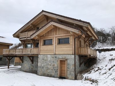 Photo for Chalet 12 pers Gérardmer near slopes La Mauselaine vue Lac, 11 km from La Bresse