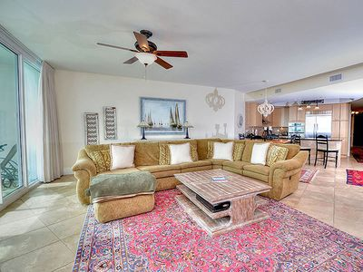 """Photo for Great View of the Gulf and Lazy River - 55"""" Smart TV - 1PM Check in Option"""