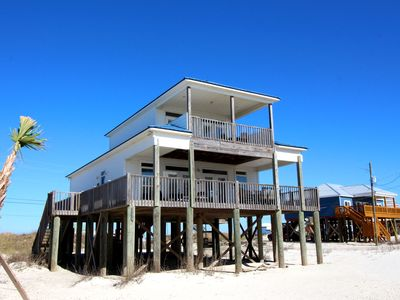 "Photo for ""Our Shared Secret""Beautiful Gulf Beachside Home, Pet Friendly, Sleeps 6"