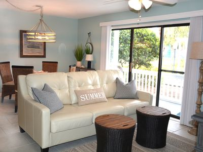 Photo for 30A*NEWLY UPDATED*2 MIN WALK TO BEACH*WASHER/DRYER IN UNIT*PERFECTION!
