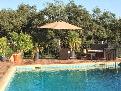Photo for T2 air-conditioned with swimming pool Gulf of Saint Tropez