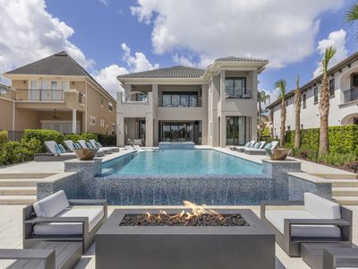 Photo for 8 Bed Villa with Elevated Views, Infinity Edge Pool, Fitness Room, Game Rooms