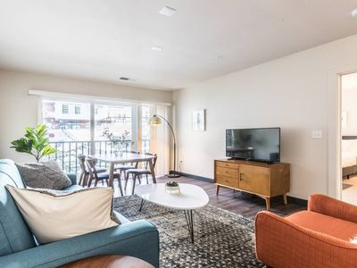 Photo for Midcentury Design in the Heart of DC - 2Bdrm+2Bath