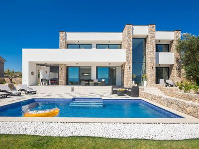 Photo for Modern Panorama Seaview VILLA SUŽAN With Private Pool *****