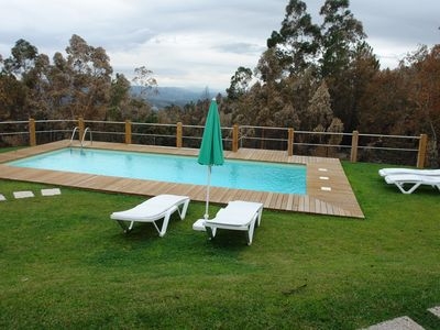 Photo for House with private pool, near GERÊS, 12 PAX