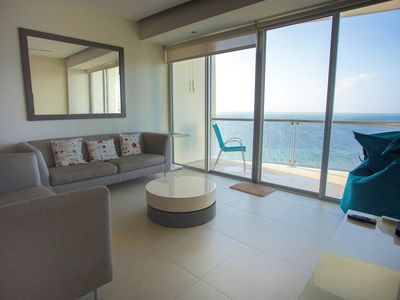 Photo for Beach front PH - Pool and Spa - Espectacular views