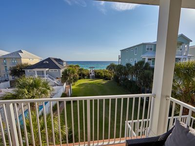 Photo for 10 BR, Gulf Front House w/ Pool; Weddings Allowed!