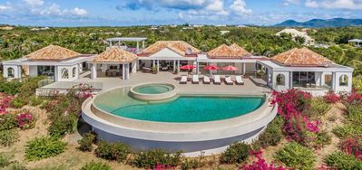 Villa Just In Paradise  -  Ocean View - Located in  Beautiful Terres Basses with Private Pool