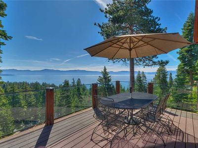Photo for Tahoe Lodge Style Home with Unique Kids' Bunk Room and Panoramic Lake Views