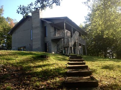 Photo for Water Front Home with Breathtaking Views! (near Clemson)